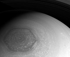 Saturn's North Pole is a Hexagon