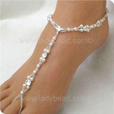 how to make foot jewelry for beach wedding | rhinestone foot jewelry our new foot jewelry collections and special ...