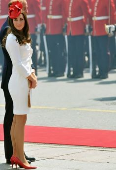Kate Middleton. 7/1/2011: Canada Day celebrations, with Prince William (Ottawa, Ontario, Canada). I mean just. Perfect.