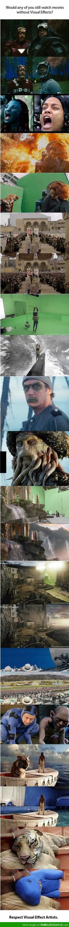 Epic movie visual effects
