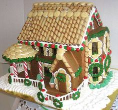 How to Make a Gingerbread House - Step-by-Step Instructions for Baking, Assembling and Decorating a Gingerbread House