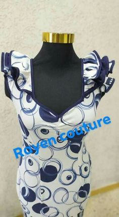 African Dress, Couture, Blouse, Cocktails, Dresses, Learning, Sewing, Fashion, Vestidos