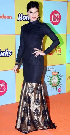 Jacqueline Fernandez at the Nickelodeon Kids Choice Awards. #Bollywood #Fashion #Style #Beauty