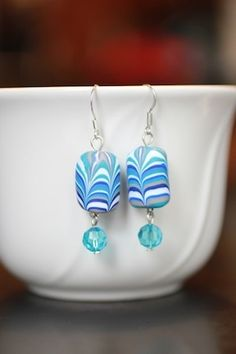 These gorgeous earrings are super easy to make. Make a dozen to go with your favorite outfits!