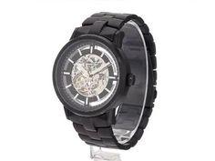 Kenneth Cole New York Men's KC3981 Black-Link Translucent Watch