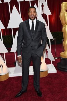 Michael Strahan in David August.