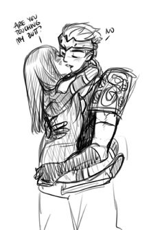 One Genva a day keeps the doctor away Overwatch Video Game, Overwatch Comic, Overwatch Mercy, Anime Couples, Cute Couples, Princess Anastasia, Gamer Couple, Genji Shimada, Anime Version