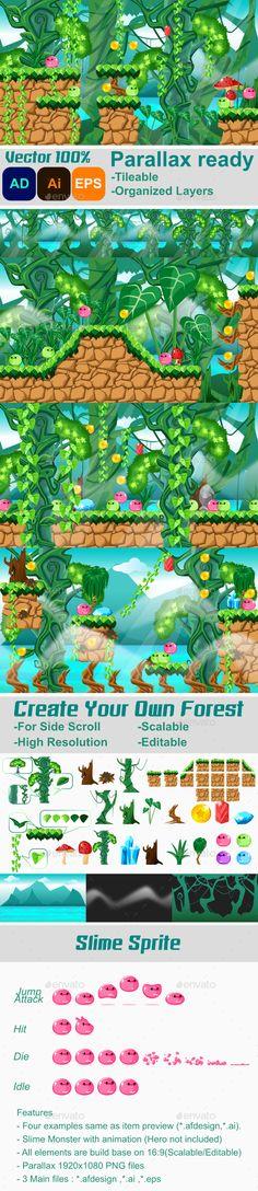 Fantasy Forest - Game Kits Game Assets