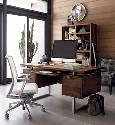 Fascinating Walnut Home Office Desk Futuristic Home Furniture Interior Decor - Decorstate