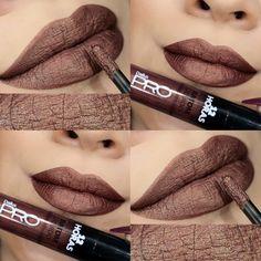Makeup Geek, Skin Makeup, Makeup Lipstick, Makeup Cosmetics, Gorgeous Makeup, Love Makeup, Beauty Makeup, Baton Matte, Lip Sence