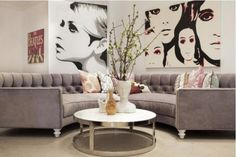 Great sofa, large graphics are super cool!