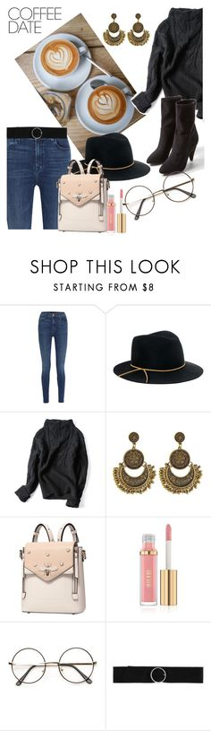 """""""What time do you want to meet?"""" by tattooedmum on Polyvore featuring J Brand, Eugenia Kim, CHARLES & KEITH, contestentry and CoffeeDate"""