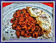 Mi pequeño rincon: Pisto Manchego con huevos fritos