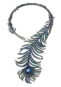 And this necklace ! OMG! * House of Boucheron via Gypsy House Designs