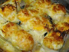 Roasted Haddock Medallions with Mayonnaise Recipe Fish Recipes, Seafood Recipes, Healthy Recipes, Healthy Food, Fish Dishes, Main Dishes, Haddock Recipes, Mayonnaise Recipe, Portuguese Recipes