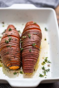 Recipe: Hasselback Sweet Potatoes