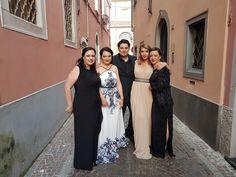Finaliștii români ai Concursului Internațional pentru Tinerii Artiști Lirici, Sarzana Opera Festival, Italia Sorana Negrea, Ramona Păun, Alin Stoica Adriana Marcu și Marta Sandu