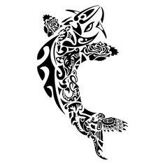 tattoo maori carpa peixe kirituhi by Tatuagem Polinésia - Tattoo Maori, via Flickr