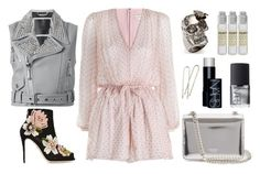 """""""Dream 169"""" by sleepyface ❤ liked on Polyvore featuring Philipp Plein, Dolce&Gabbana, Zimmermann, Rochas, Alexander McQueen, NARS Cosmetics and Le Labo"""