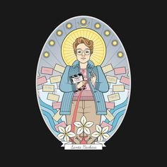 Check out this awesome 'Saint+Barb' design on @TeePublic!