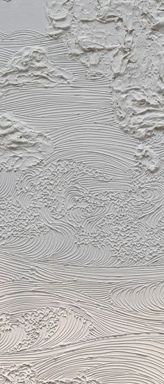 Loving this texture Textures Patterns, Print Patterns, Pattern Print, Art Blanc, Pattern Texture, Blender 3d, Natural Texture, Art Plastique, Textured Walls