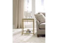 Hooker Furniture Living Room Skyline Floating Shelf Accent End Table 5336-50005