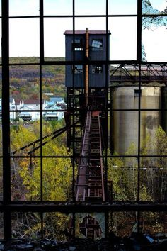 Inside the same coal breaker Eastern PA - St. Nicholas??