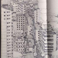 Instagram media by tanxuantongxue - 【求推荐罗湖 南山 福田 有高层位置(10-30层就好)可以去画深圳的景 】#drawing#paint#printing#moleskine#portrait#art#illustration#illustrator#acrylic#sketch#watercolor#freehand#doodle#comic#pen#pencil#Shenzhen#tanxuan#fungus#skull#agaric#urbansketch#sketchbook#steampunk#moleskineart#dailysketch#cityscape