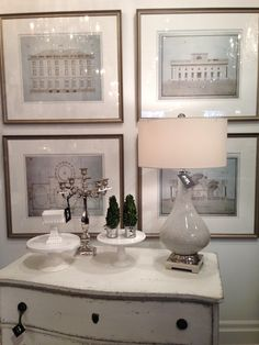 a quadrant of architectural {bank sections} prints - so beautiful!  #homedecor #furniture #prints #architectural #walldecor #oakville #winterberrylane