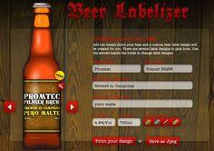 Rótulo de Cerveja Online Grátis - BeerLabelizer