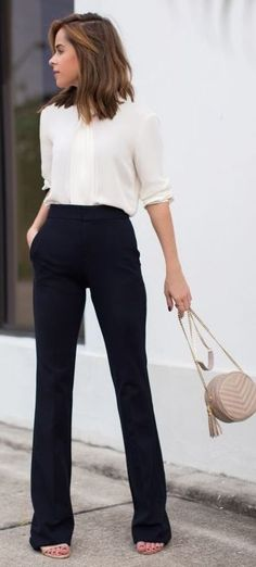 Cool Business Casual Outfit These are a bit long for work, but I like the idea of pants that can be worn wit... Check more at http://24shopping.cf/my-desires/business-casual-outfit-these-are-a-bit-long-for-work-but-i-like-the-idea-of-pants-that-can-be-worn-wit/