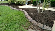 Concrete Landscape Curbing in Ft Myers FL.  See more and get your FREE estimate at http://msdcurbing.com/decorative-concrete-fort-myers-fl.html