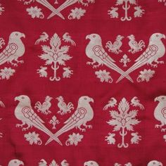 Brocade of a Margrave with Parrots
