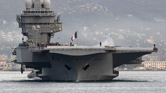 French aircraft carrier Charles-de-Gaulle (AFP Photo / Boris Horvat)