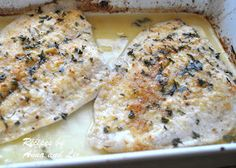 2 Sisters Recipes... by Anna and Liz: Baked Flounder Filet Oreganata - Lightened!