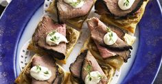 The best Roast Beef Tarts recipe you will ever find. Welcome to RecipesPlus, your premier destination for delicious and dreamy food inspiration. Rare Roast Beef, Best Roast Beef, Roast Beef Recipes, Roast Beef And Horseradish, Good Roasts, Thing 1, Tart Recipes, Savoury Dishes, Everyday Food