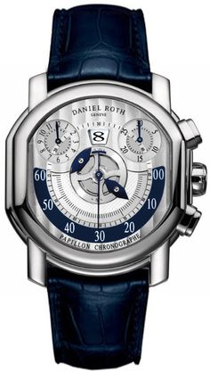 Daniel Roth Papillon Chronographe Mens Watch Model: 319.Z.60.394.CM.BD