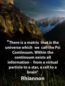 The 'Psi Continuum' is the mind and the brain of the universe. It is the quantum reality that gives rise to holographic one we experience as 'Now'.