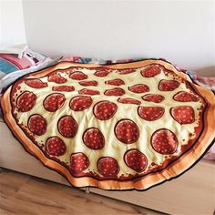 Swimwear Women 2016 Round Beach Cover Up Hippie Bonut Pizza Cartoon Cloak Bathing Suit Bohemian Kimono Kaftans Wrap Pareo Pizza Blanket, Giant Pizza, Pizza Cartoon, Pizza Art, Bohemian Kimono, Kitchen Organization Pantry, Cool Stuff, Stuff To Buy, Awesome Things