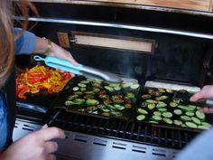 Cuisson des légumes lors de la Grill Academy du 2 mai 2013 (photo : ©MelleBonPlan)
