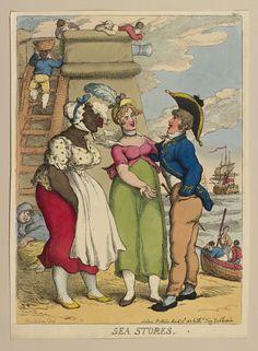 Thomas Rowlandson (1757-1827) - Sea Stores.