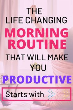 15 Essential Productive Morning Routine Tips That Are Life Changing - Productive Morning Routine - 15 Life Changing productive morning routine habits that you can incorporate in order to improve you - Self Development, Personal Development, Low Estrogen Symptoms, Motivation, Healthy Morning Routine, Morning Habits, Morning Routines, Productive Things To Do, Successful People Habits
