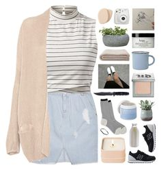 """""""started from the bottom now we a little bit above the bottom"""" by annamari-a ❤ liked on Polyvore featuring SJYP, Antipast, Henri Bendel, Urban Decay, New Balance, Pull&Bear, canvas, Lather, Torre & Tagus and Campania International"""