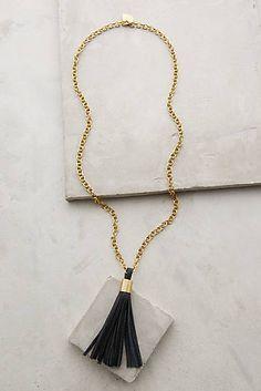 Hedda Tassel Necklace