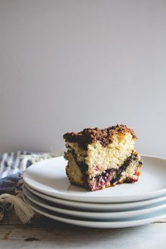 Chocolate + Mixed Berry Coffee Cake — The Homemade Haus