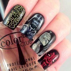 star wars #nail #nails #nailart