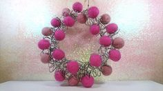 Hey, I found this really awesome Etsy listing at https://www.etsy.com/uk/listing/533368924/pink-wreath-pretty-wreath-pink-christmas