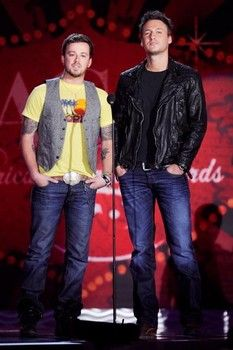 """Country duo Love and Theft recently topped the charts with """"Angel Eyes."""""""