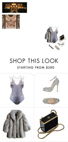 """""""idk it just came to mind"""" by aliahrfp on Polyvore featuring Fleur of England, Fabi and Chanel"""