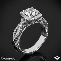Diamond Engagement Ring : Verragio Venetian Collection